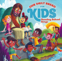 CD Our Daily Bread For Kids Sunday School Songs (2 CDs)