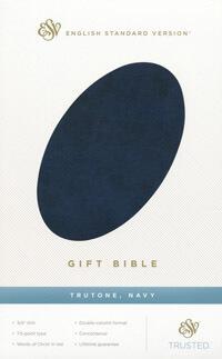 ESV Gift Bible Navy