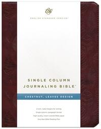 ESV Journaling Single Column Bible