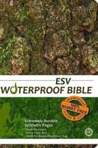 ESV Waterproof Bible Camouflage
