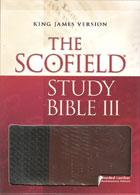 KJV Scofield Study Bible III INDEXED *