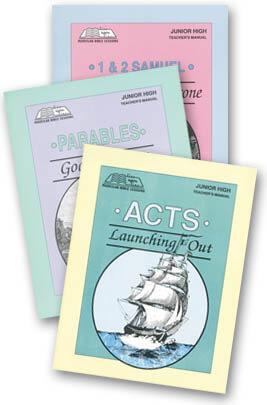 Junior High Teachers Manual