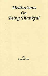 Meditations On Being Thankful  ECS