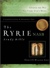 NASB Ryrie Study Bible & CD-ROM