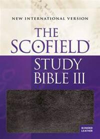 NIV Scofield Study Bible III INDEXED *