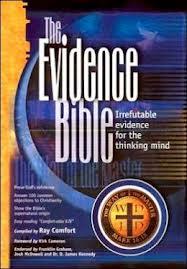 NKJV Evidence Bible Burgundy Bonded Leather