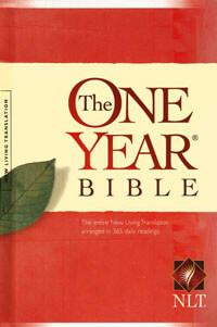 NLT One Year Bible Hardcover