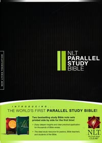 NLT Parallel Study Bible Hardcover