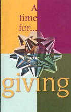 Tract: Time For Giving (Christmas Tract)