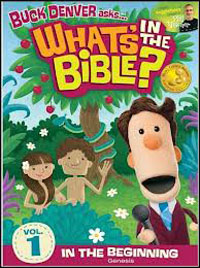 DVD Whats In The Bible #1 In the Beginning