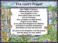 Chart: Lords Prayer / Trespasses, The (Laminated)