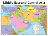 Chart: Middle East & Central Asia