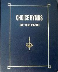 Hymnbook: Choice Hymns of the Faith (lrg prnt) ECS