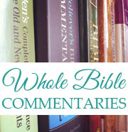 Whole Bible Commentaries