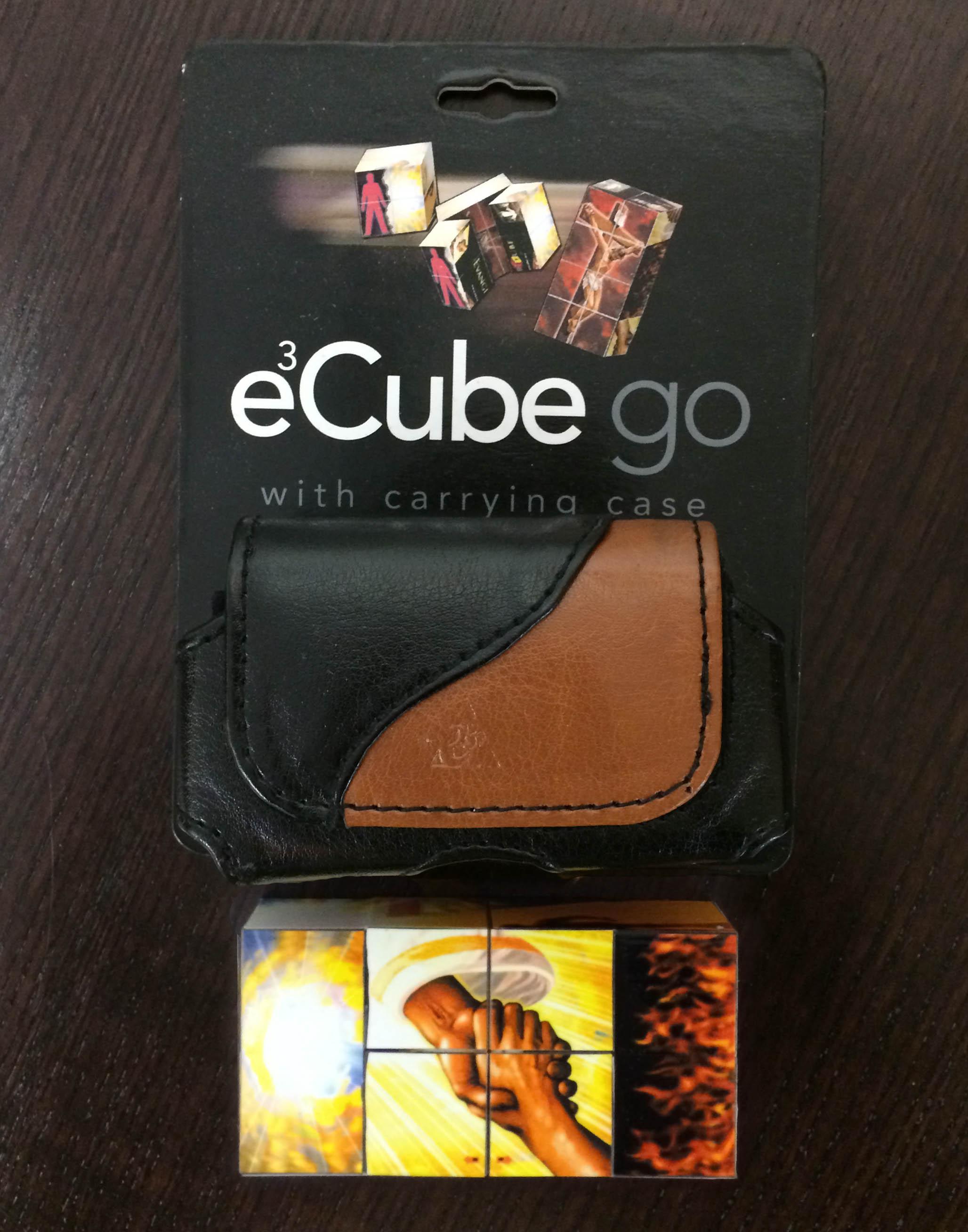 EvangeCube Go - Black/Tan