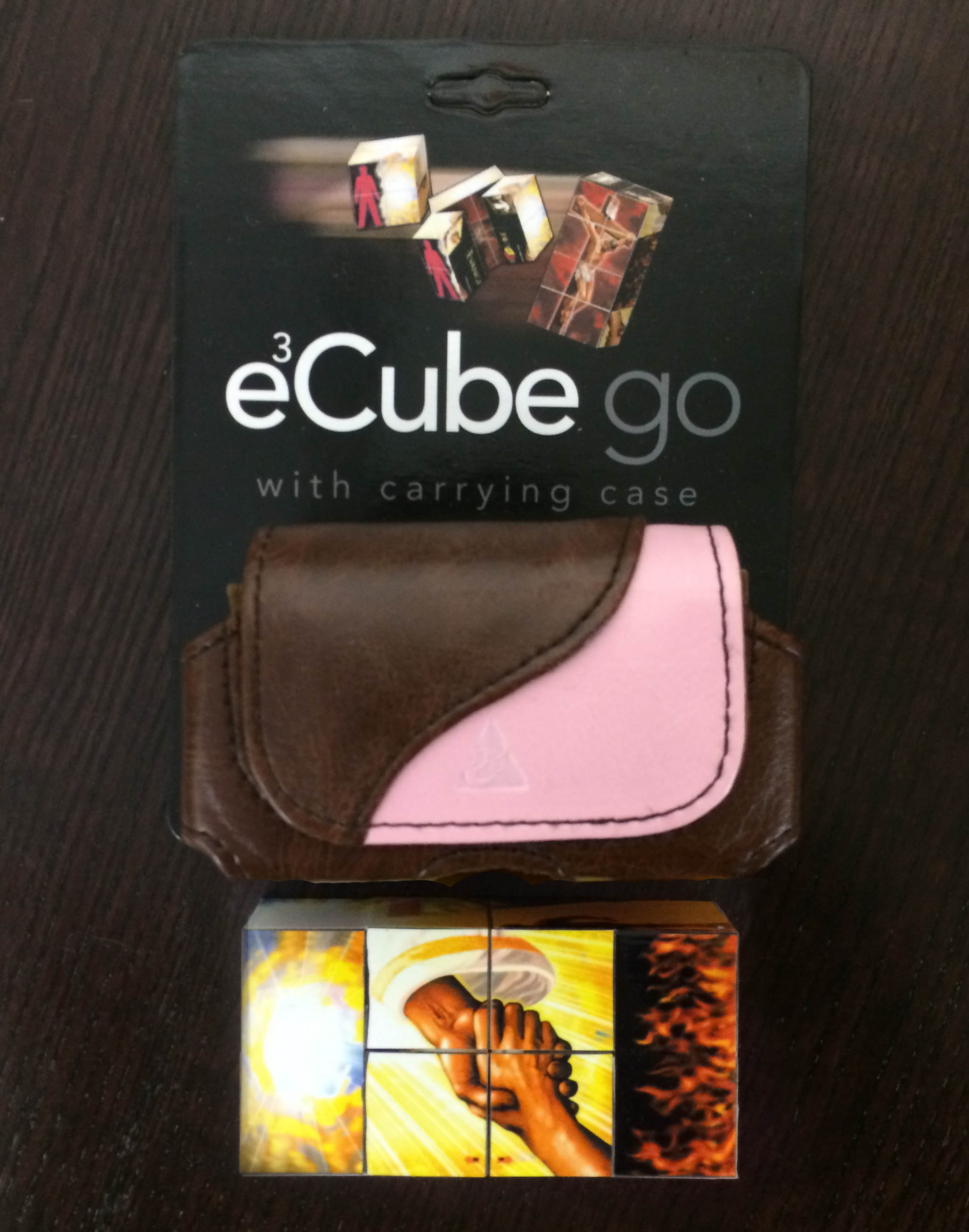 EvangeCube Go - Pink/Brown