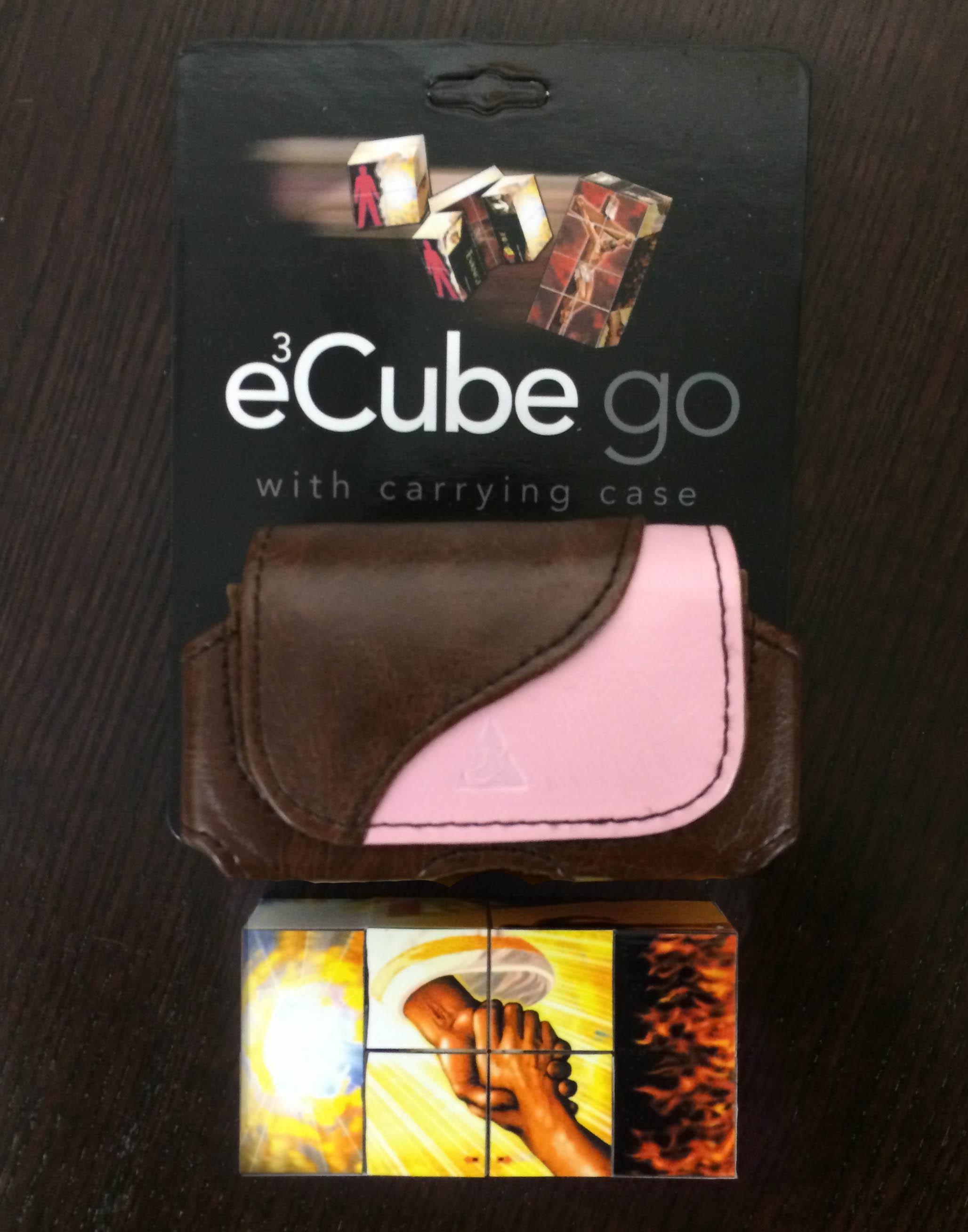 EvangeCube Go - Pink/Brown