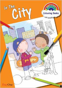 Rainbow Colouring Book - In The City