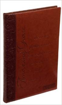 Journal Lined Lux Leather Amazing Grace Brown