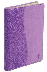 Journal Lined Handy Size Pearl-Lavender