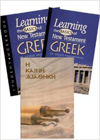 Learning the Basics of NT Greek (3 book set)