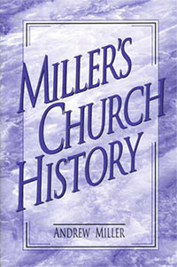 Millers Church History  HC