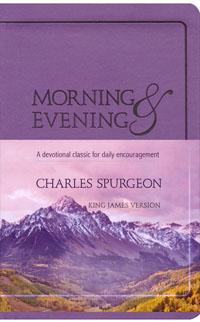 Morning and Evening KJV (Lilac Flexisoft)