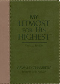 My Utmost For His Highest Updated Gift Edition