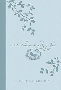One Thousand Gifts Gift Edition Blue Leather like