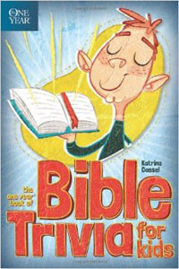 One Year Book of Bible Trivia For Kids PB
