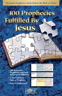 Pamphlet: 100 Prophecies Fulfilled by Jesus