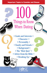 Pamphlet: 100 Things to Know When Dating