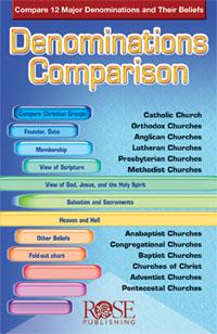 Pamphlet: Denominations Comparison, The