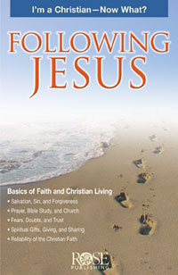 Pamphlet: Following Jesus