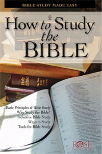 Pamphlet: How to Study the Bible