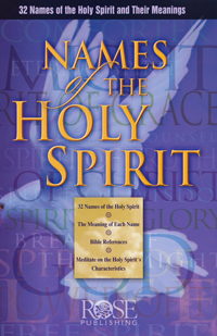 Pamphlet: Names of the Holy Spirit