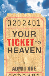 Tract: Your Ticket To Heaven (ESV) (Pkg-25)