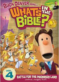 DVD Whats In The Bible #4 Battle For The Promised Land