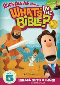 DVD Whats In The Bible #5 Israel Gets A King