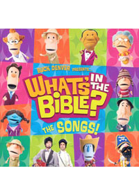 CD Whats In The Bible? (childrens CD)