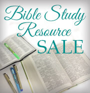 SALE - Bible Study Resources