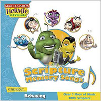CD Hermie & Friends Scripture Memory Songs BEHAVING*