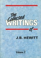 Collected Writings of Hewitt: V 2 O/P