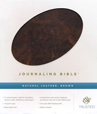 ESV Journaling Bible Natural Leather