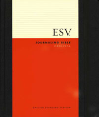 ESV Journaling Bible Black HC