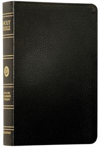 ESV New Classic Reference Bible Black
