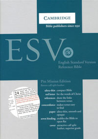 ESV Pitt Minion Reference