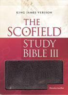 KJV Scofield Study Bible III  INDEXED