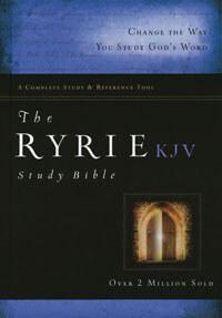KJV Ryrie Study Bible HC