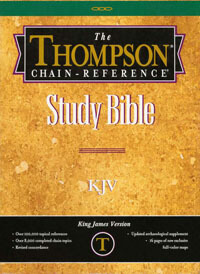 KJV Thompson Chain Reference Bible